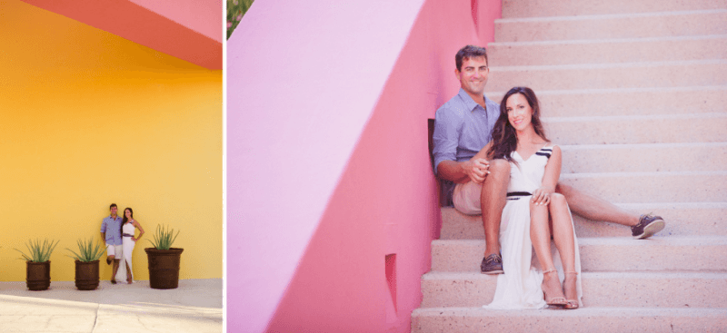 Engagement Photos in Los Cabos