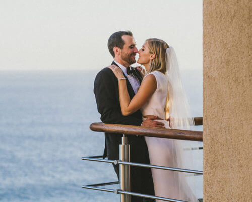Los Cabos Wedding Planners Brittney and Jared at Bellissima