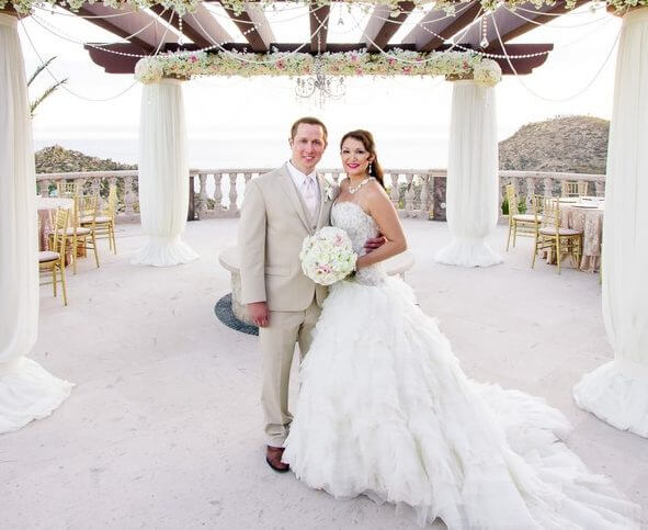 Los Cabos Wedding Planners Christine & Andrew at Maria