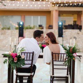 Los Cabos Wedding Planners Sara & Todd at Fiesta Americana