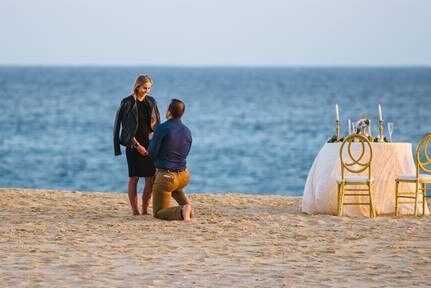 engagement in Cabo San Lucas